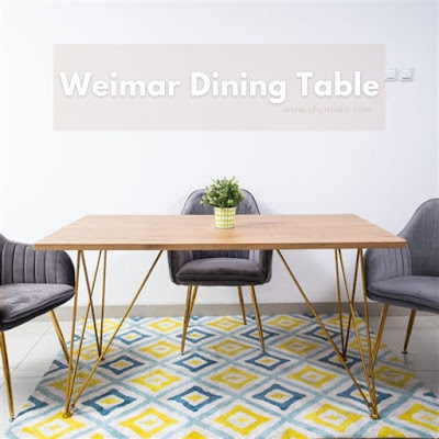 weimar dining table icreate
