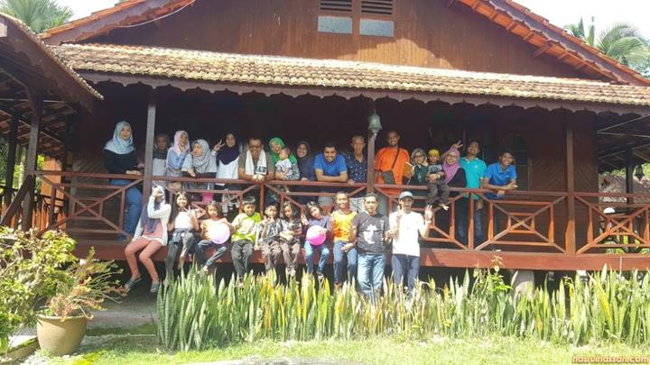 Berkampung di Banglo Mewah Janda Baik, Bentong, Pahang