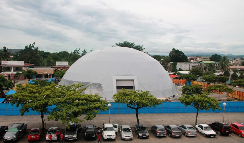 NCCC's 'The Dome' to be used as reserved quarantine facility