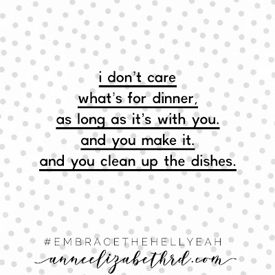 """Please Cook For Me"" Weekly Wisdom"