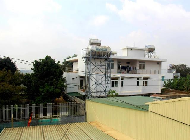 Biệt thự xa hoa của đại tá Đỗ Văn Sang - Nguyên Phó tư lệnh Tổng công ty 15