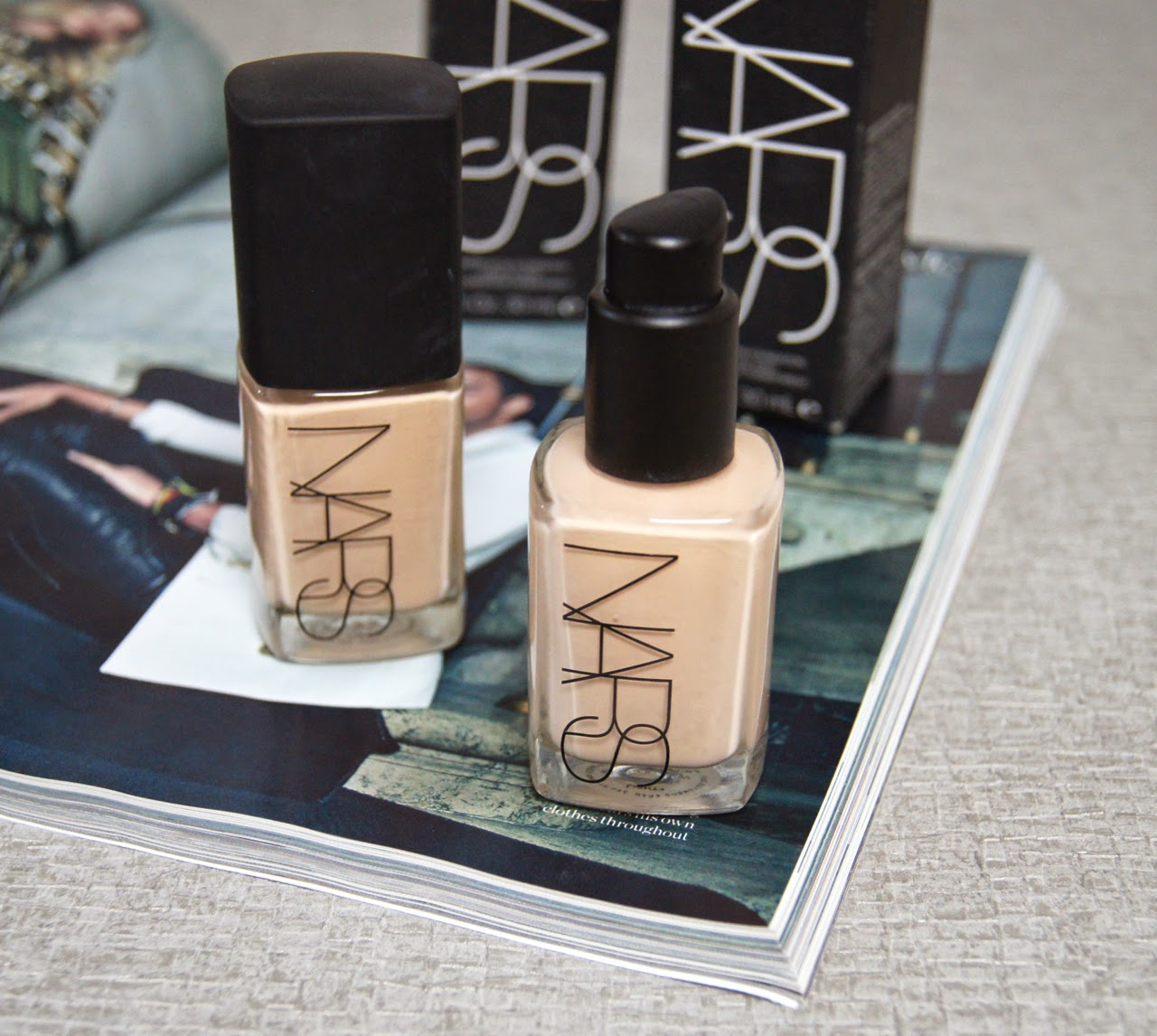 nars sheer glow foundation review swatch