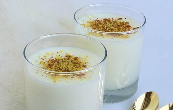 Method of action of orchids with starch and milk