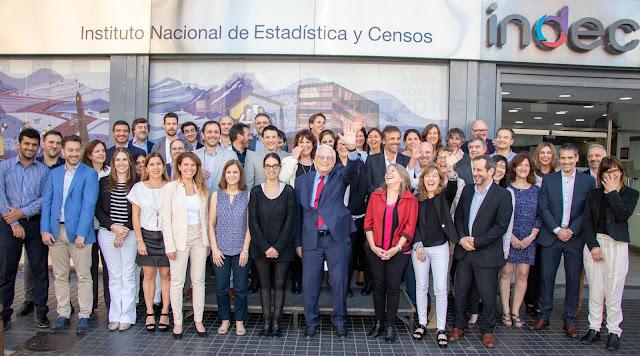 El equipo que restableció el servicio oficial de estadísticas. Gracias por la confianza. Cuídenlo!!! @JorgeTodesca @IndecArgentina