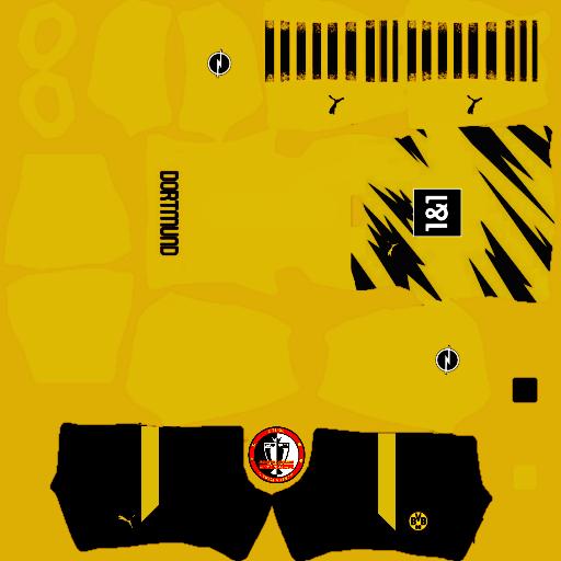 Kits Borussia Dortmund 2021 - Dream League Soccer 2021