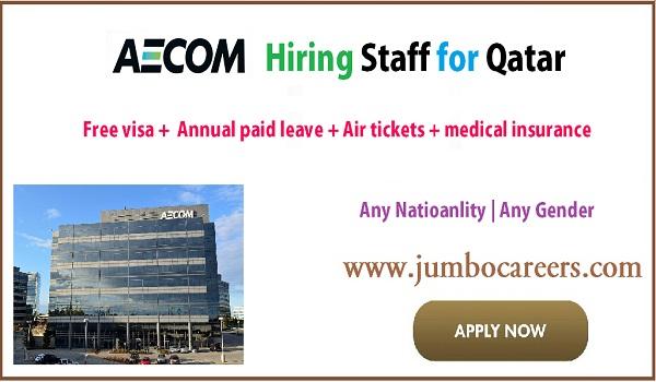 Free Visa jobs in Qatar for engineers, Qatar jobs for engineers, US Company Jobs Qatar