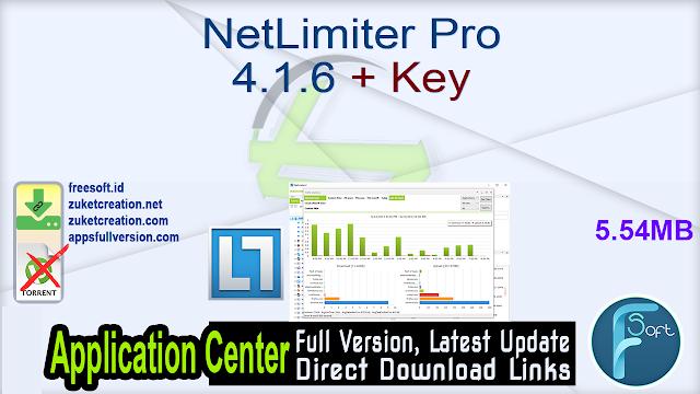 NetLimiter Pro 4.1.6 + Key