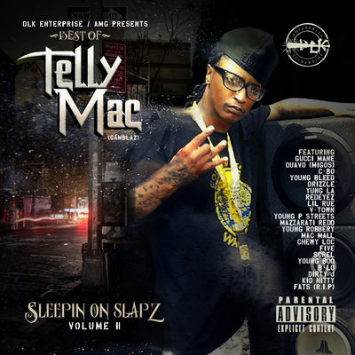 Telly Mac - Sleepin On Slapz, Vol. 2 - Album Download, Itunes Cover, Official Cover, Album CD Cover Art, Tracklist