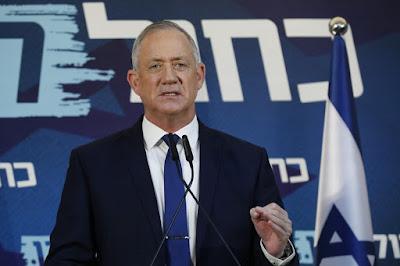 Gantz convida o Likud  para formar governo em Israel
