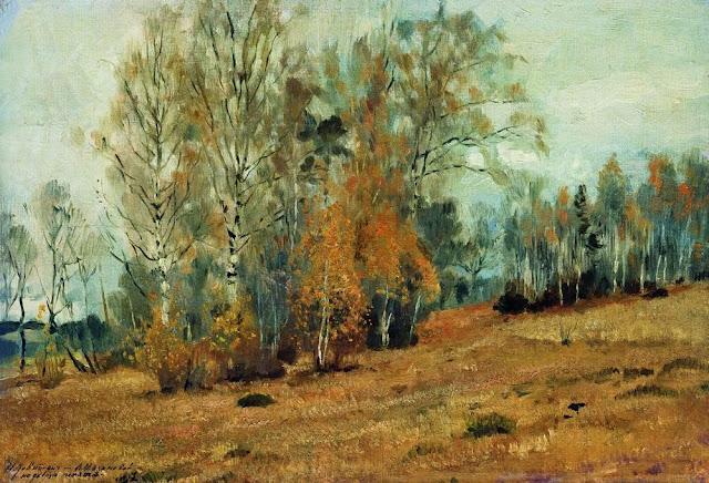 Исаак Ильич Левитан - Осень. 1891