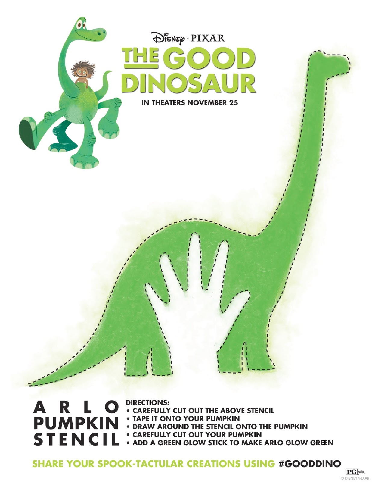 fandads halloween with the good dinosaur