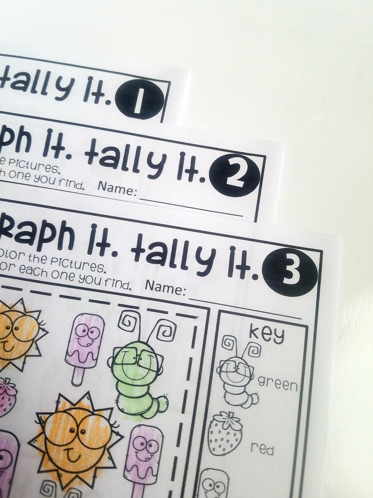 LittleChucklesandHoneysuckles: First Grade Go Math Chapter 10 Graphing! [ 1600 x 1200 Pixel ]