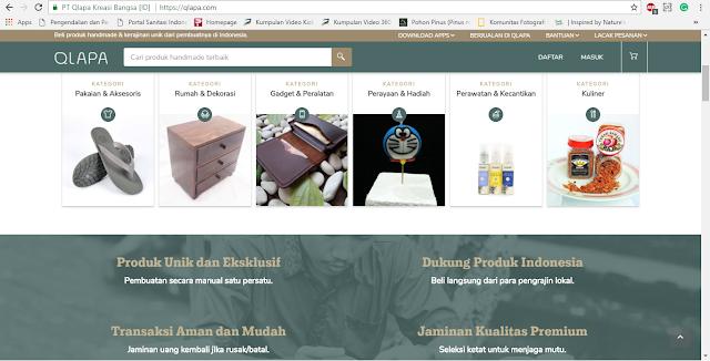 Desain Website (Qlapa.com)