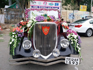 Marriag car flower decorators in Hyderabad