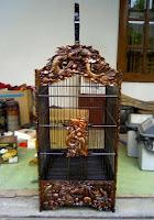 Sangkar Burung Jati Kotak