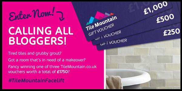 Tile Mountain Blogger Competition
