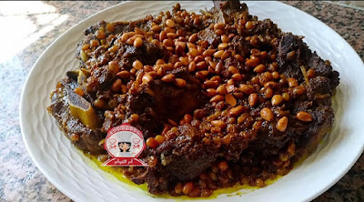 مروزية العيد على حقها وطريقها معلكة محمرة ومجمرة
