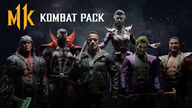 список бойцов Боевого набора Mortal Kombat 11