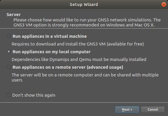 GNS3 Ubuntu