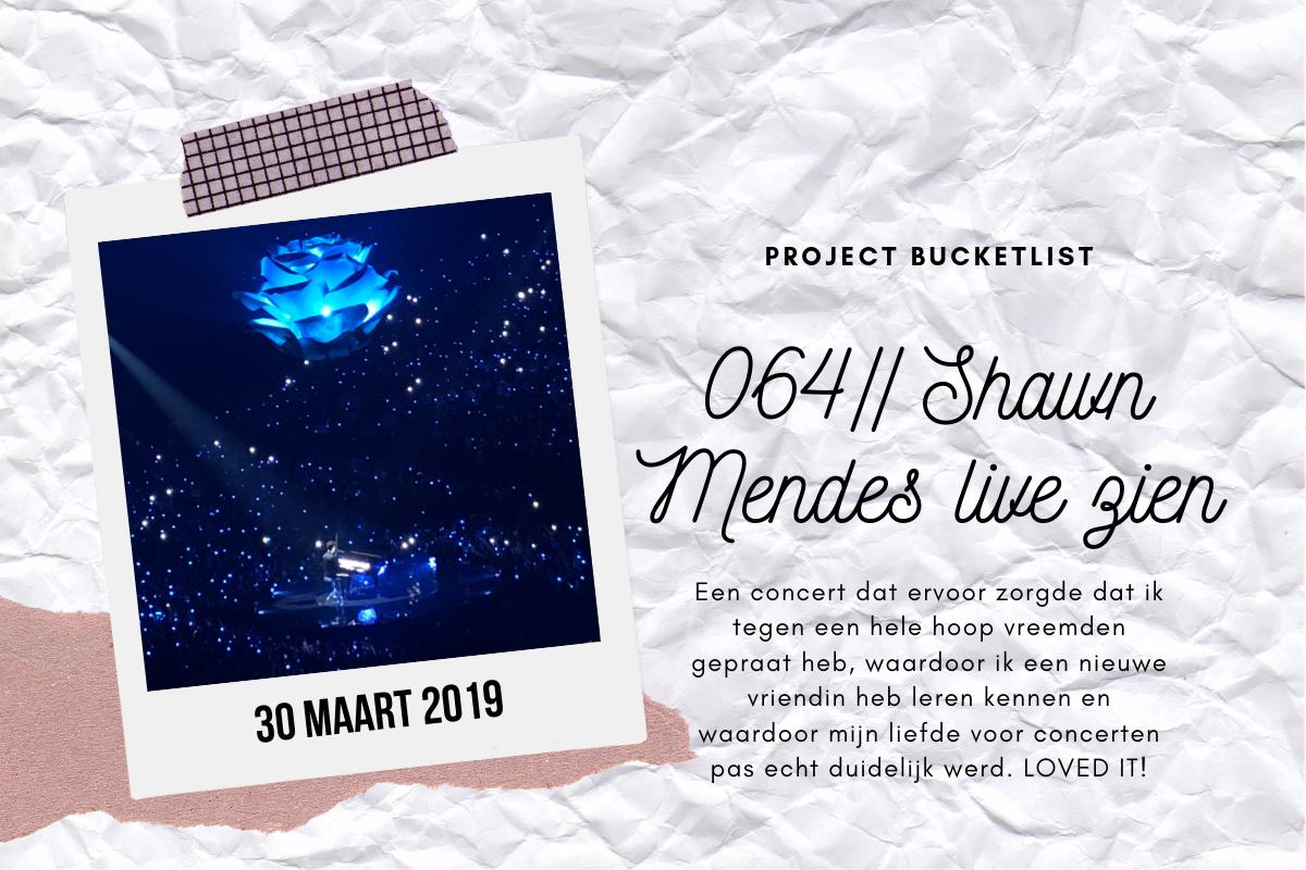 064 // Shawn Mendes live zien
