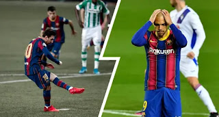 Barcelona register outrageous penalty record with 42% misses this season