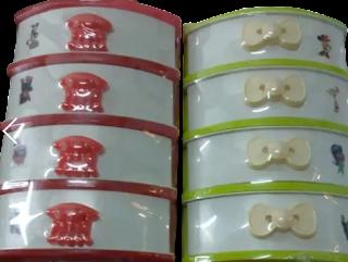وحدة ادراج بلاستيك للتخزين ، 4 مستويات اللون متعدد