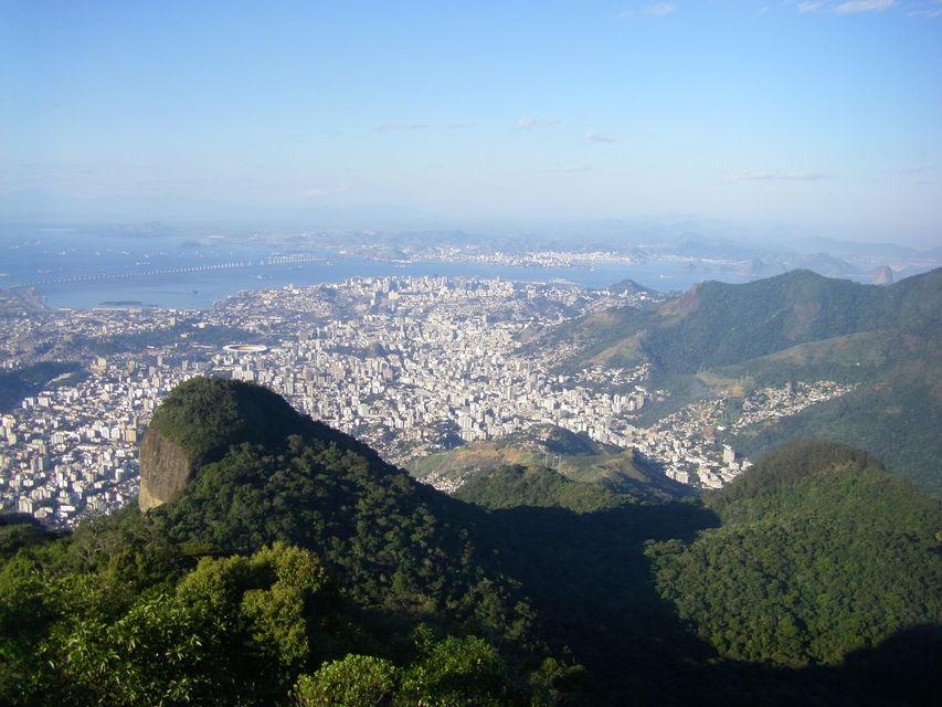Тропический лес Тижука в Рио де Жанейро