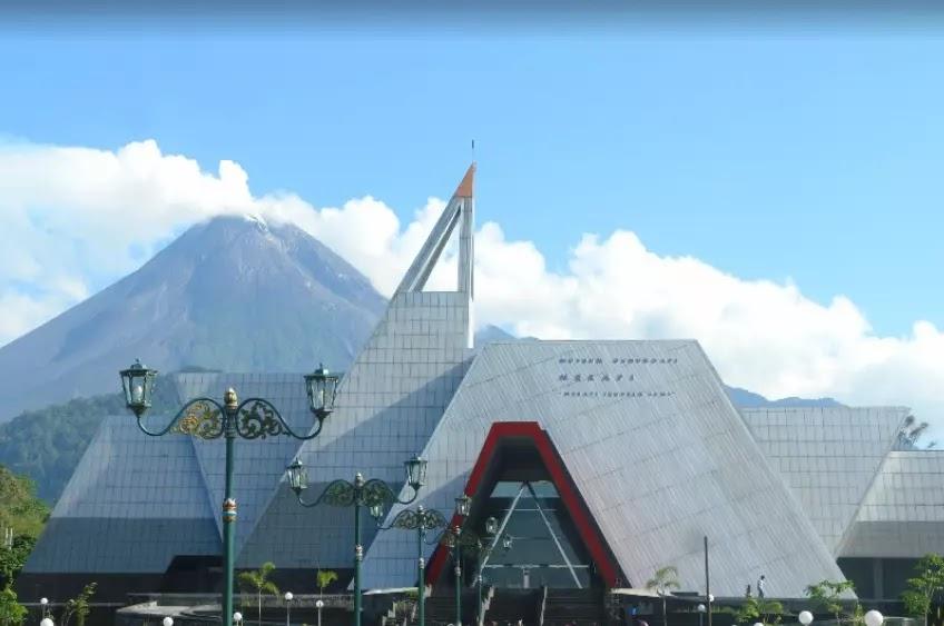 Museum dengan pameran gunung merapi
