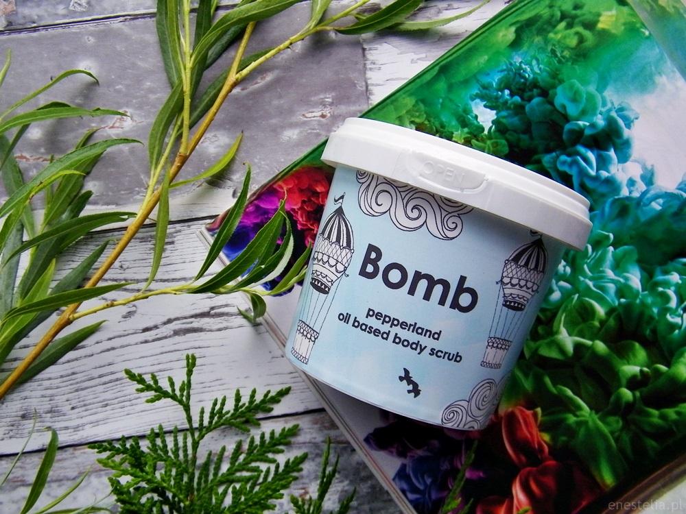 Bomb Cosmetics peeling pod prysznic Pepperland