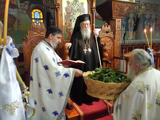 Θεσπρωτ/ια: Με συμμετοχή πιστών εορτάστηκε η Κυριακή των Βαΐων στη Θεσπρωτία