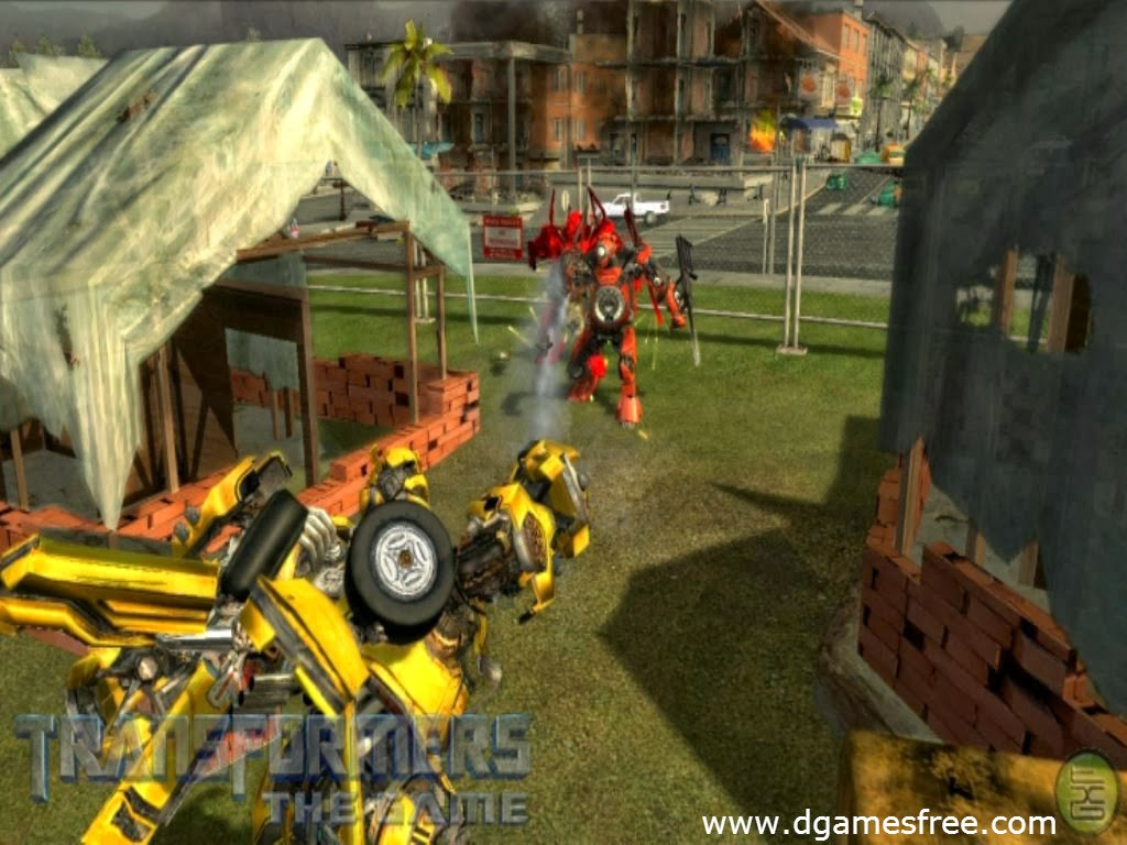 Download Transformers The Game Free Highly Compressed