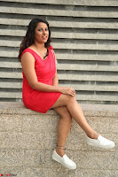 Shravya Reddy in Short Tight Red Dress Spicy Pics ~  Exclusive Pics 111.JPG