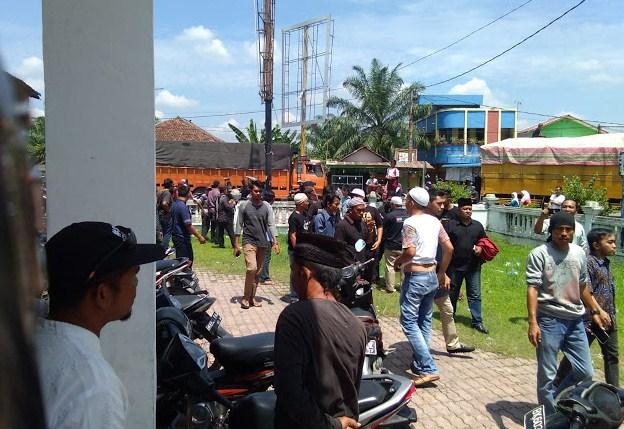 Kehadiran Perwakilan GP Ansor Kirab Satu Negeri Di Tanjungpura Ditolak