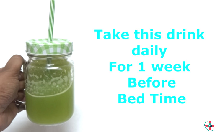 Simple Bedtime Drink for Flat Tummy