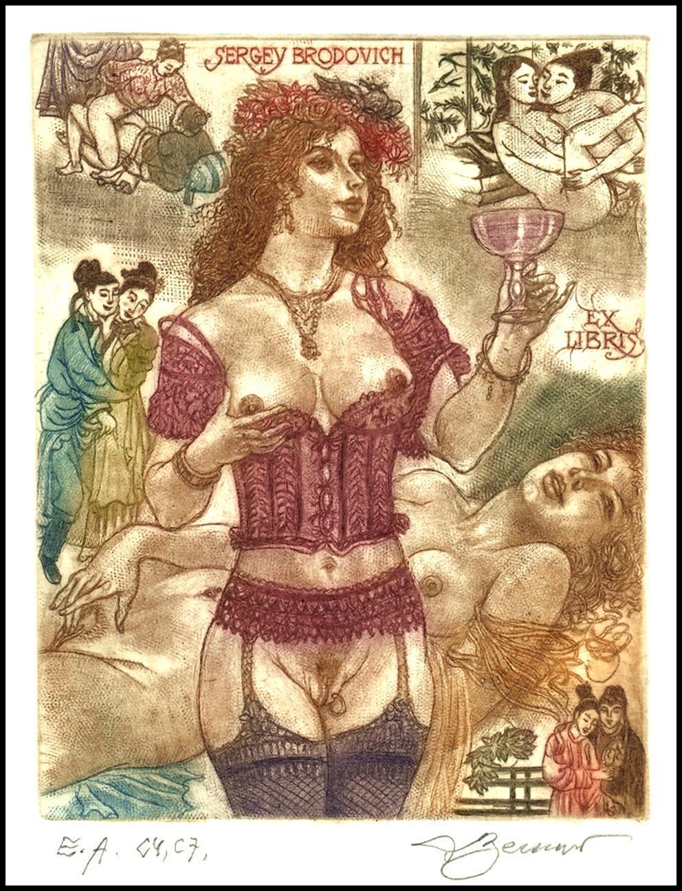rubenesque erotic art