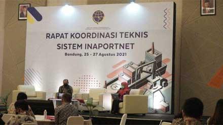 Rakor Inaportnet 2021 di Bandung