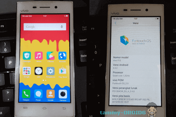 Firmware Unbrick dan Flash Vivo Y15 Tested