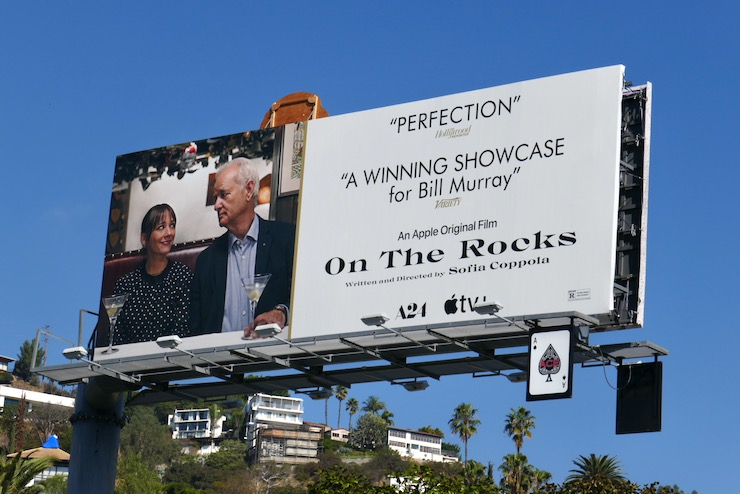 On the Rocks 2021 FYC billboard