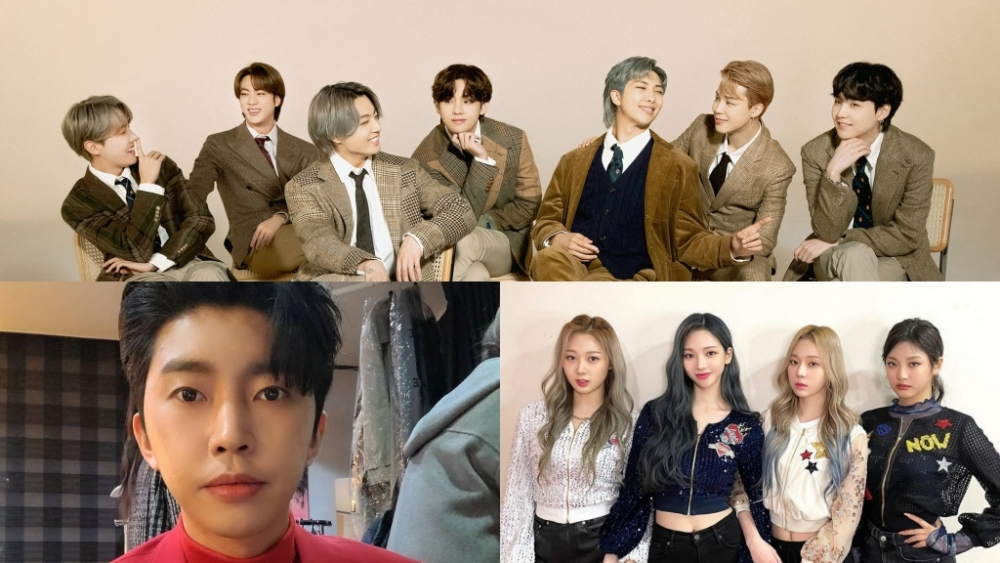 Ranking of The Most Popular Korean Singers in June 2021