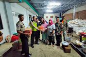 Pesantren RI-1 Banser NU Bagana, turun ni  membantu korban bencana banjir