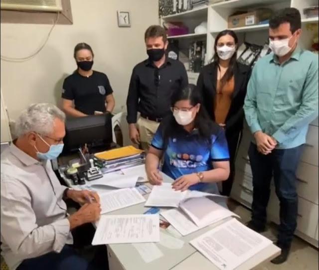 Seap e Prefeitura assinam convênio para uso de mão de obra carcerária no Oeste do RN