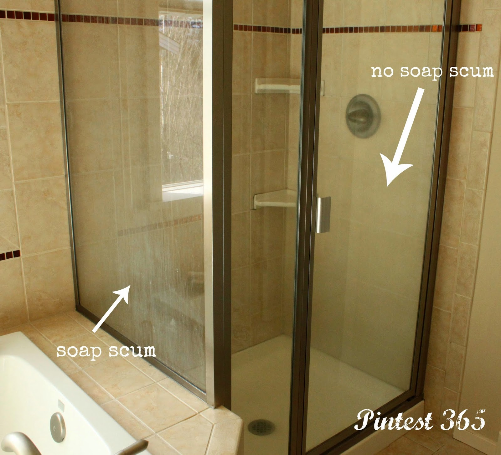 Day 73 Cleaning Soap S Off Shower Doors Success