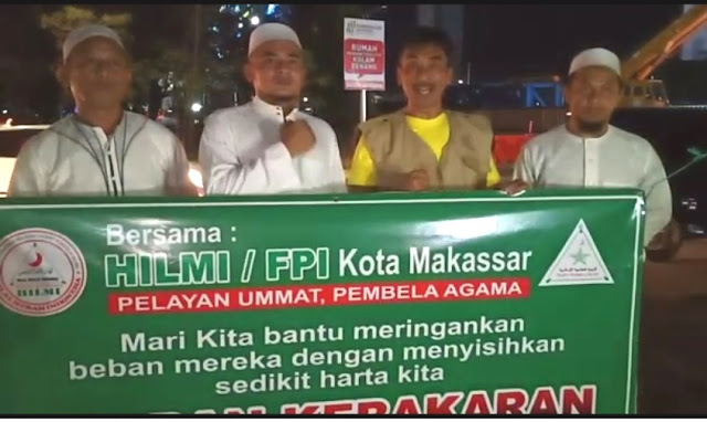 FPI Makassar, Benana Kebakaran di Malkassar