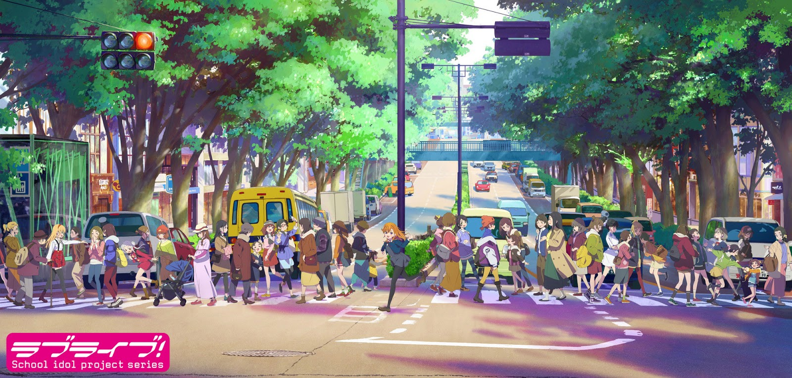 Inilah Visual Terbaru Project Series Anime Love Live!