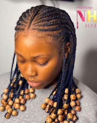 Beautiful Fulani Braids