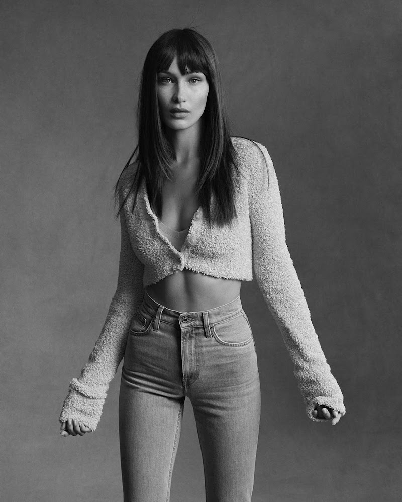 Bella Hadid Featured for Helmut Lang's Pre -fall 2020 Campaign