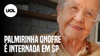 Palmirinha Onofre internada – TV Cruj reunida – poder da chama vermelha