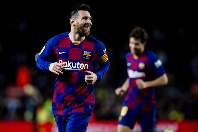 برشلونة يفوز علي سيلتا فيجو بأربعة اهداف لهدف في الدوري الاسباني