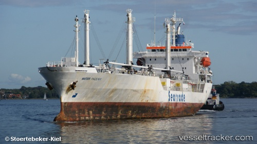 Breaking News:The Russian Embassy in Nigeria said on Wednesday that two Russian citizens were abducted by pirates from the Water Phoenix vessel.