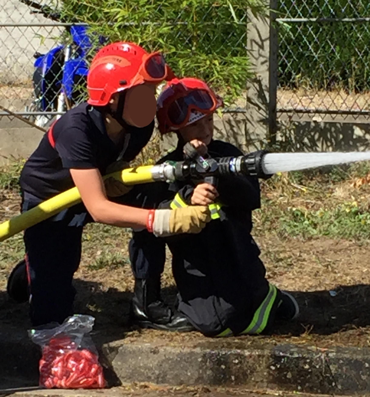 devenir jeune sapeur pompier